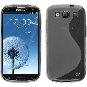 Silikonhülle für Samsung Galaxy S3 Neo S-Style clear