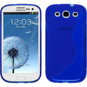 Silikonhülle für Samsung Galaxy S3 Neo S-Style dunkelblau