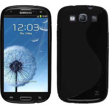 Silikon Hülle Galaxy S3 Neo S-Style schwarz