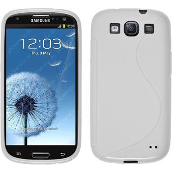 Silikon Hülle Galaxy S3 Neo S-Style weiß