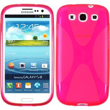 Silikonhülle für Samsung Galaxy S3 Neo X-Style pink