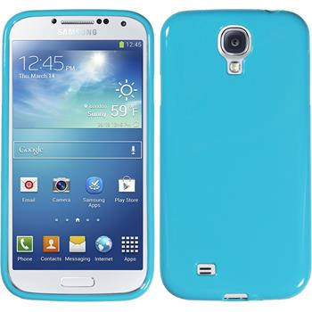 Silicone Case for Samsung Galaxy S4 Candy light blue