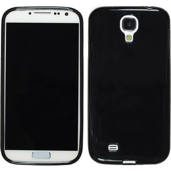 Silikon Hülle Galaxy S4 Candy schwarz