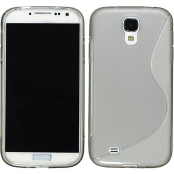 Silicone Case for Samsung Galaxy S4 S-Style gray