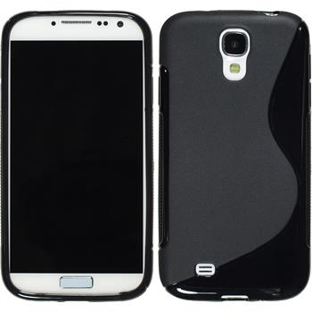 Silikon Hülle Galaxy S4 S-Style schwarz