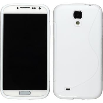 Silicone Case for Samsung Galaxy S4 S-Style white