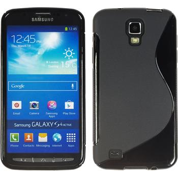 Silicone Case for Samsung Galaxy S4 Active S-Style black