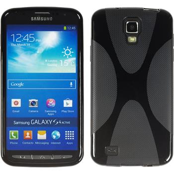 Silicone Case for Samsung Galaxy S4 Active X-Style black