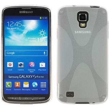Silikon Hülle Galaxy S4 Active X-Style clear