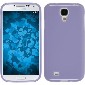 Silikon Hülle Galaxy S4 Candy lila