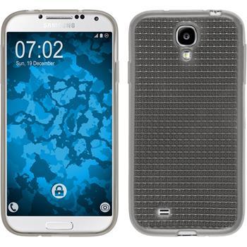 Silikon Hülle Galaxy S4 Iced grau