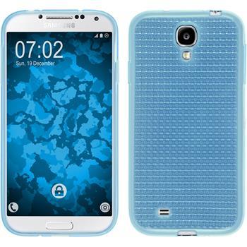 Silikon Hülle Galaxy S4 Iced hellblau