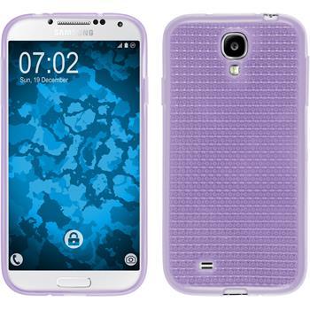 Silikon Hülle Galaxy S4 Iced lila
