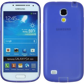 Silicone Case for Samsung Galaxy S4 Mini Dustproof purple