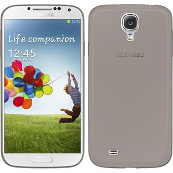 Silikonhülle für Samsung Galaxy S4 Slimcase grau