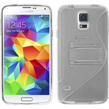 Silicone Case for Samsung Galaxy S5  transparent