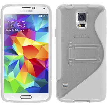 Silicone Case for Samsung Galaxy S5  white