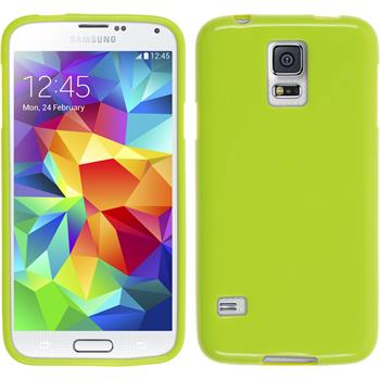 Silicone Case for Samsung Galaxy S5 Candy green