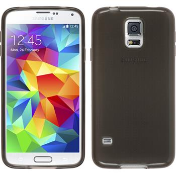 Silicone Case for Samsung Galaxy S5 transparent black