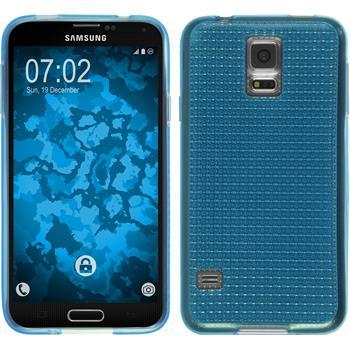 Silikon Hülle Galaxy S5 Iced hellblau