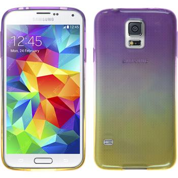Silikon Hülle Galaxy S5 Neo Ombrè Design:05