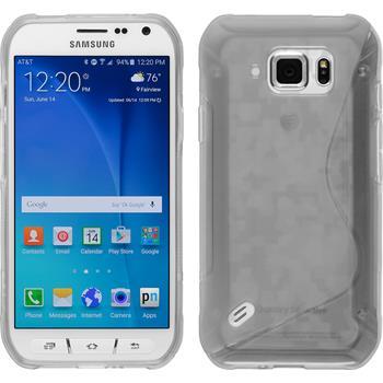 Silikonhülle für Samsung Galaxy S6 Active S-Style clear