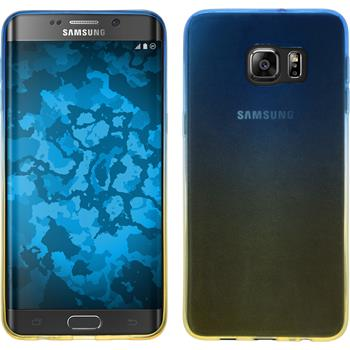 Silikon Hülle Galaxy S6 Edge Plus Ombrè Design:02