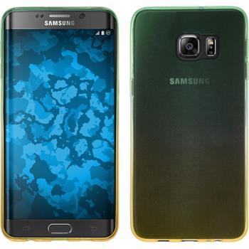 Silikon Hülle Galaxy S6 Edge Plus Ombrè Design:03