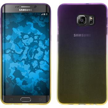 Silikon Hülle Galaxy S6 Edge Plus Ombrè Design:05