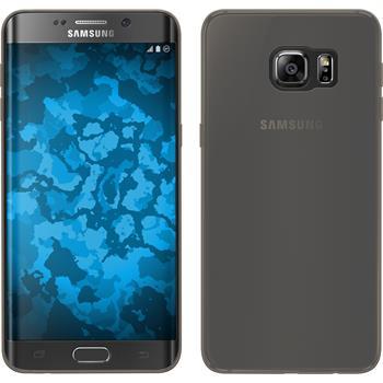 Silikon Hülle Galaxy S6 Edge Plus Slimcase grau