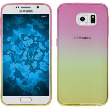 Silikon Hülle Galaxy S6 Ombrè Design:01