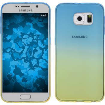 Silikon Hülle Galaxy S6 Ombrè Design:02