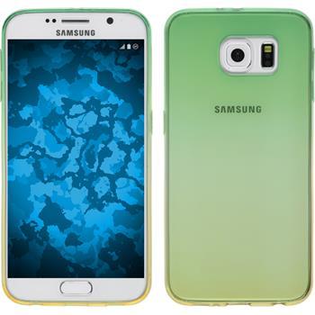 Silikon Hülle Galaxy S6 Ombrè Design:03