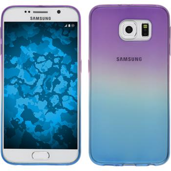 Silikon Hülle Galaxy S6 Ombrè Design:04