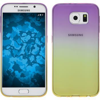 Silikon Hülle Galaxy S6 Ombrè Design:05
