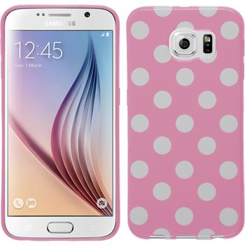 Silikonhülle für Samsung Galaxy S6 Polkadot Design:02