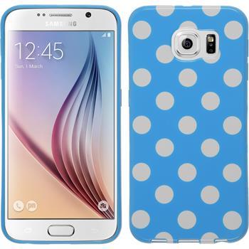 Silikonhülle für Samsung Galaxy S6 Polkadot Design:08