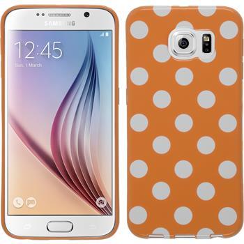 Silikon Hülle Galaxy S6 Polkadot Design:10