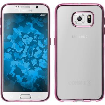 Silikon Hülle Galaxy S6 Slim Fit pink