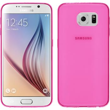 Silikonhülle für Samsung Galaxy S6 Slimcase pink