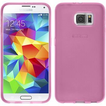 Silikon Hülle Galaxy S6 transparent rosa
