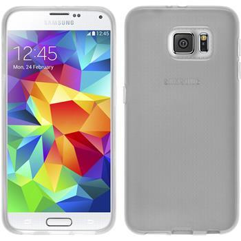 Silikon Hülle Galaxy S6 transparent weiß