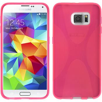 Silikon Hülle Galaxy S6 X-Style pink