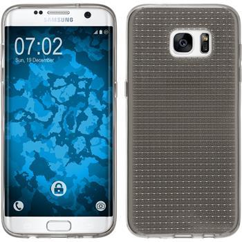 Silikon Hülle Galaxy S7 Edge Iced grau Case