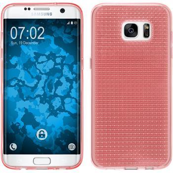 Silikon Hülle Galaxy S7 Edge Iced rosa Case