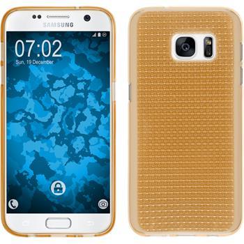 Silikonhülle für Samsung Galaxy S7 Iced gold