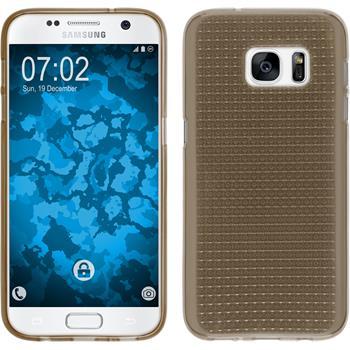 Silikon Hülle Galaxy S7 Iced grau