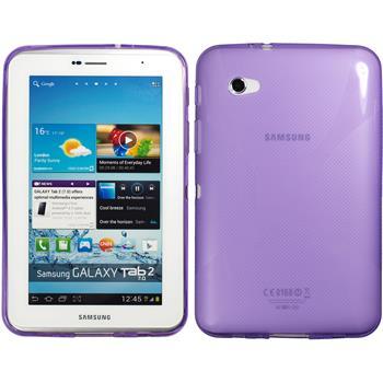 Silikon Hülle Galaxy Tab 2 7.0 X-Style lila