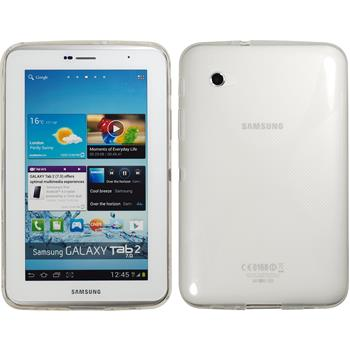 Silicone Case for Samsung Galaxy Tab 2 7.0 X-Style transparent
