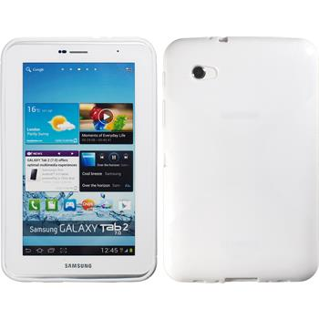 Silicone Case for Samsung Galaxy Tab 2 7.0 X-Style white
